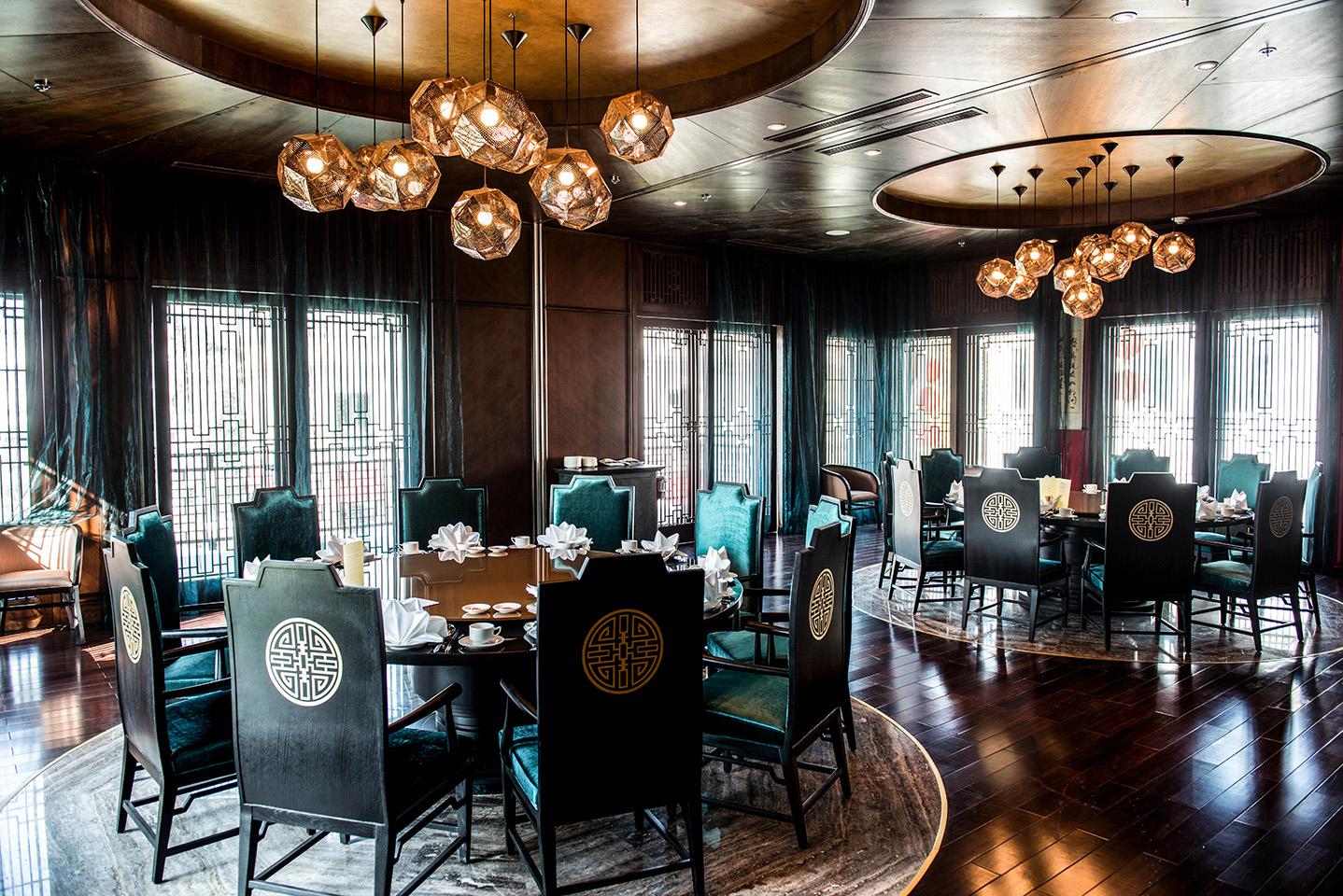 phong cách thiết kế nhà hàng trung quốc