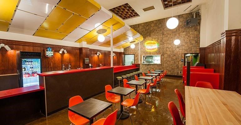 thiết kế nhà hàng ăn nhanh
