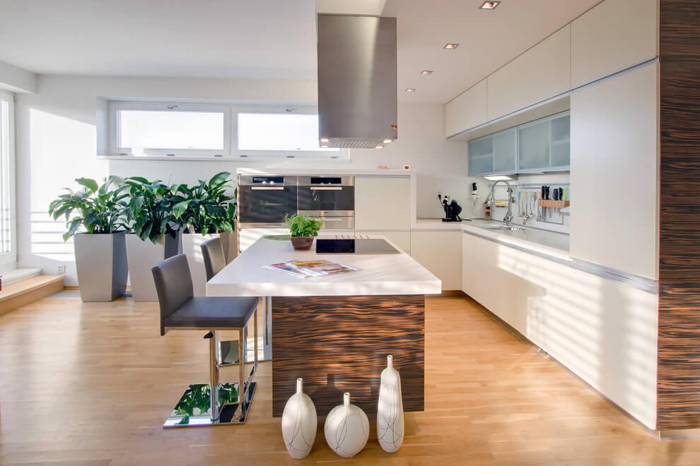 Thiết kế nội thất nhà ống phòng bếp