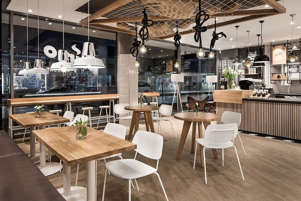 Thiết kế nội thất quán cafe sang trọng và đẳng cấp