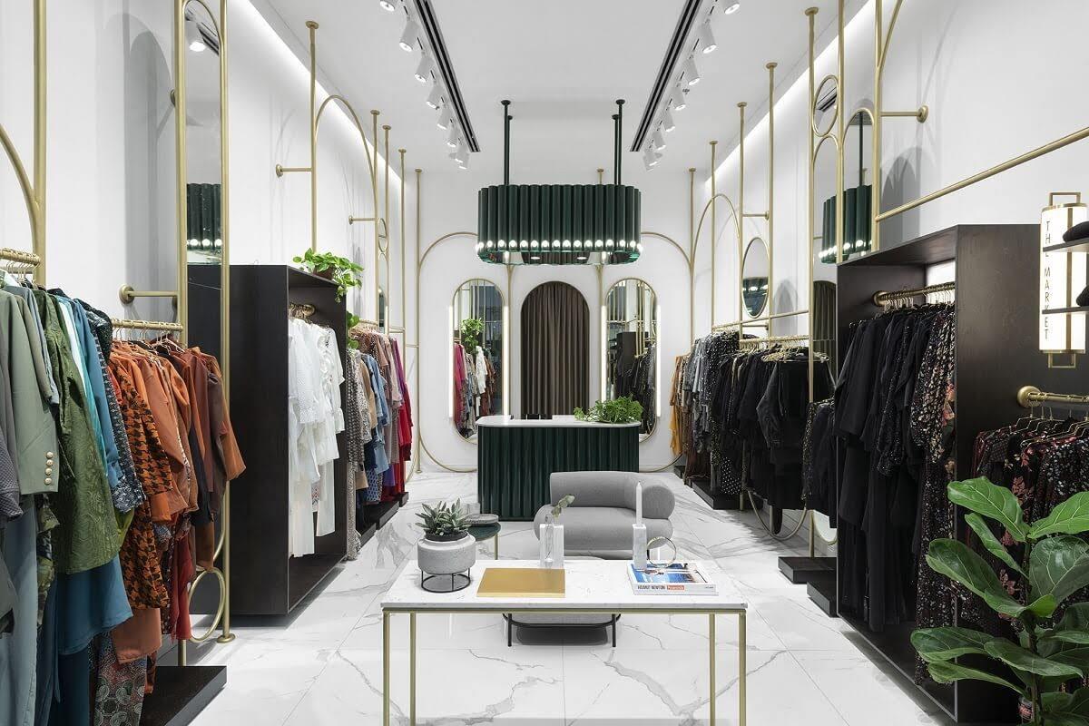 Thiết kế nội thất showroom thời trang nữ