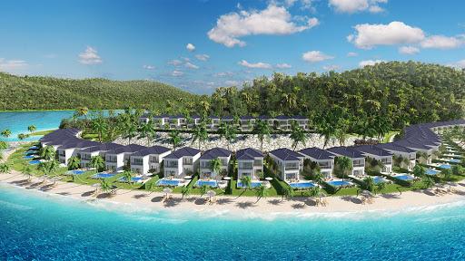 Biệt thự biêtn Vinpearl Nha Trang được hình thành trên một hòn đảocos vị trí địa lí thuận lợi