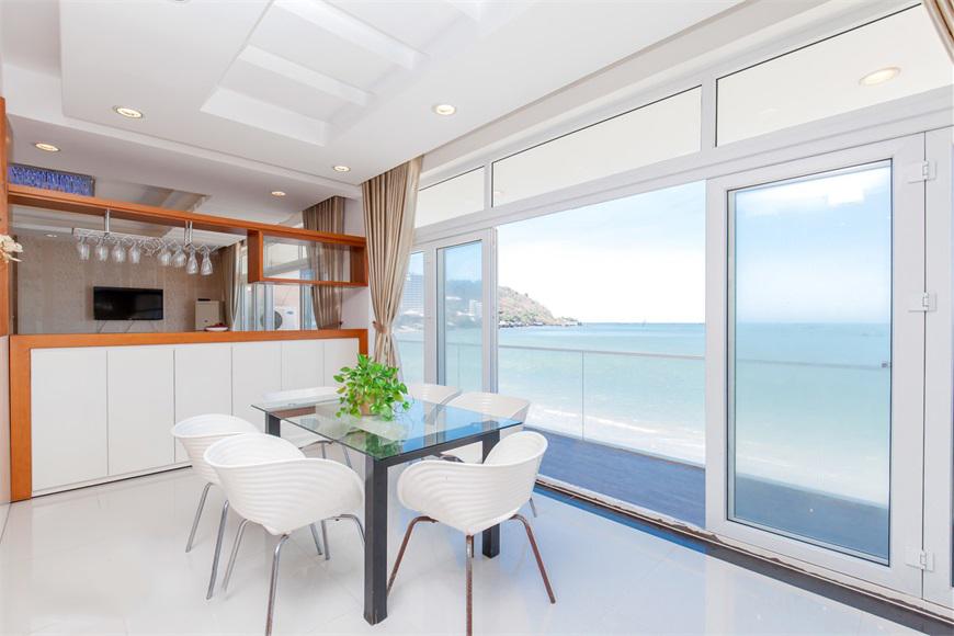 Nội thất bên trong những căn villa ở vũng tàu được thiết kế đơn giản, hiện đại