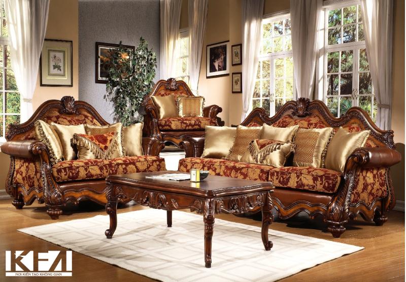 Bàn ghế bằng gỗ hương