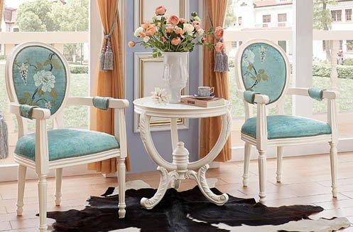 Bàn ghế phòng ngủ phong cách châu âu 5