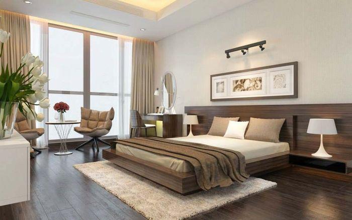 bàn ghế phòng ngủ chung cư 2