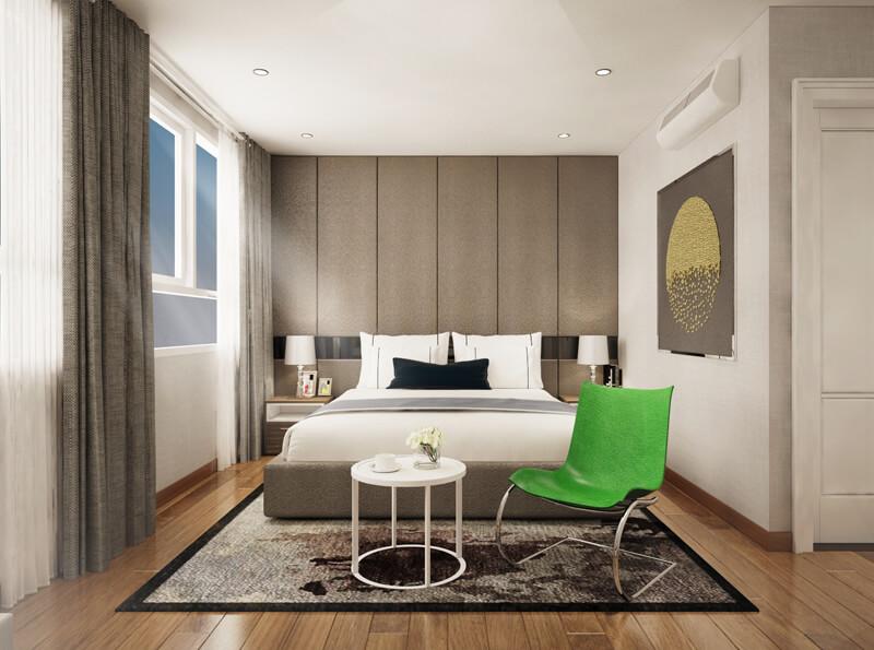 bàn ghế phòng ngủ chung cư