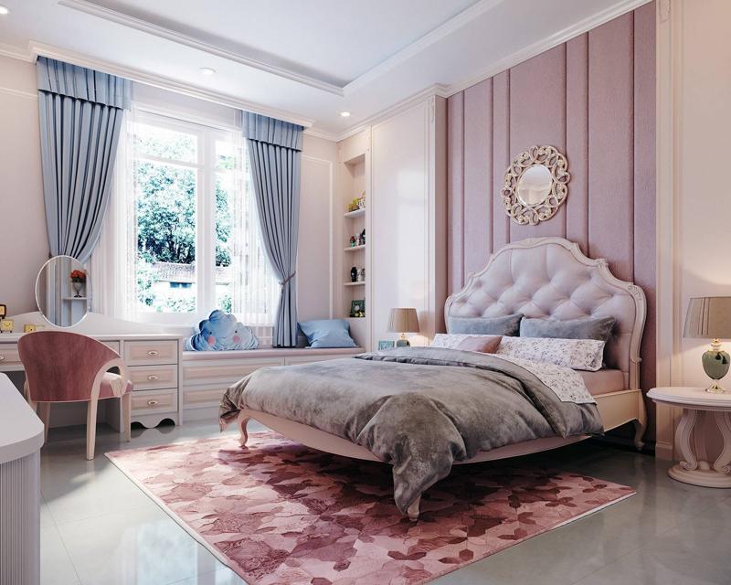 Bàn ghế phòng ngủ cổ điển