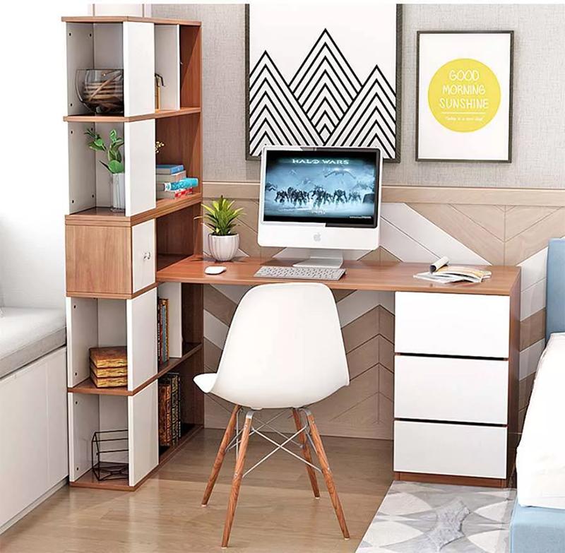 Thiết kế bàn làm việc trong phòng ngủ thẩm mỹ và khoa học