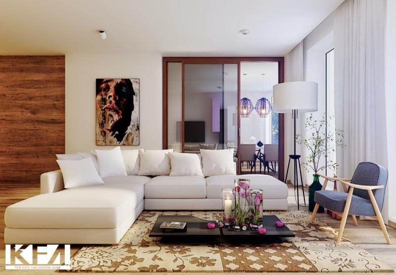Cách bố trí không gian phòng khách đẹp hợp phong thủy