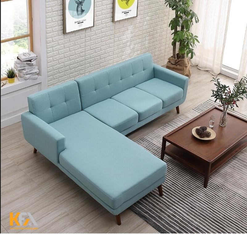 Chọn mẫu sofa thích hợp với kích thước phòng khách