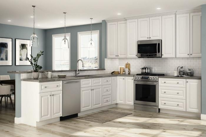 kích thước tủ bếp phù hợp với chiều cao của người việt