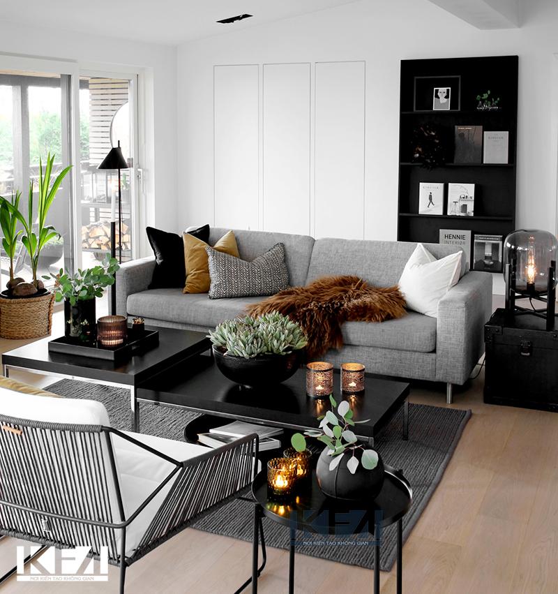 Căn hộ chung cư đẹp hơn với phong cách tân cổ điển