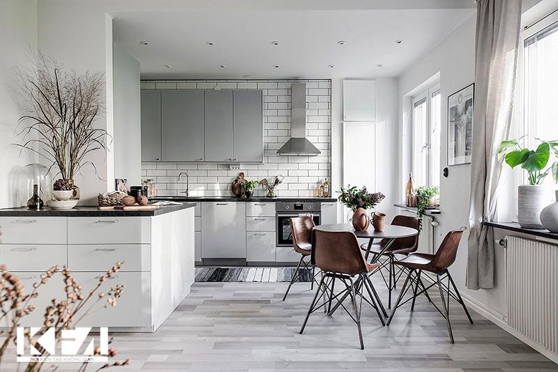 Nhà chung cư đẹp 60m2 phong cách hiện đại