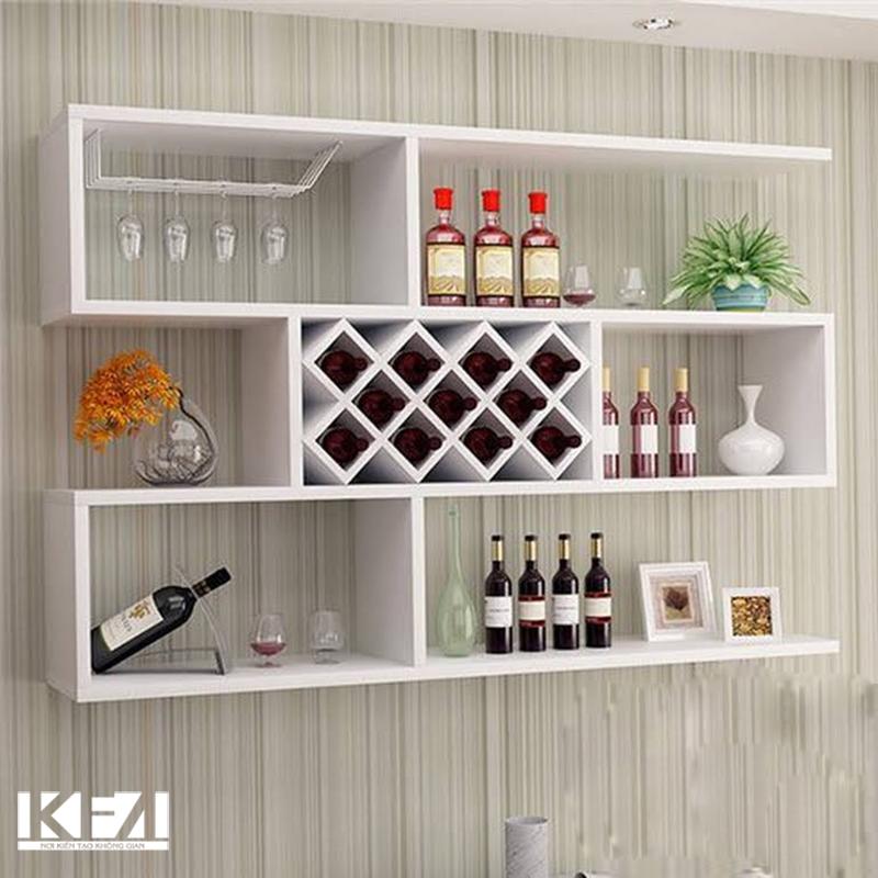 Mẫu tủ rượu treo tường đẹp năm 2020