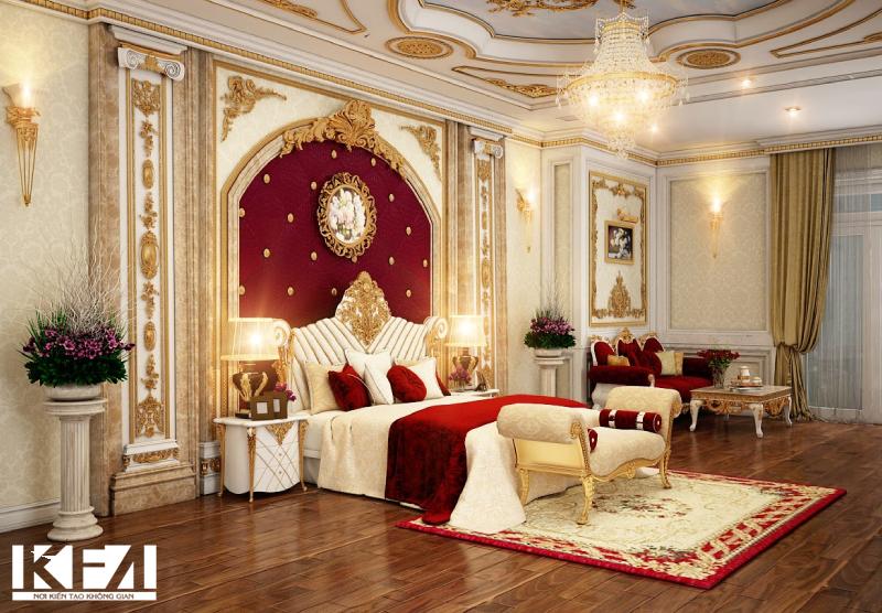 Top 10 mẫu phòng ngủ tân cổ điển được ưa chuộng nhất hiện nay