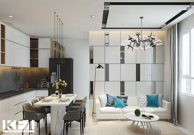 Thiết kế nội thất chung cư hiện đại – Giải pháp cho diện tích nhỏ