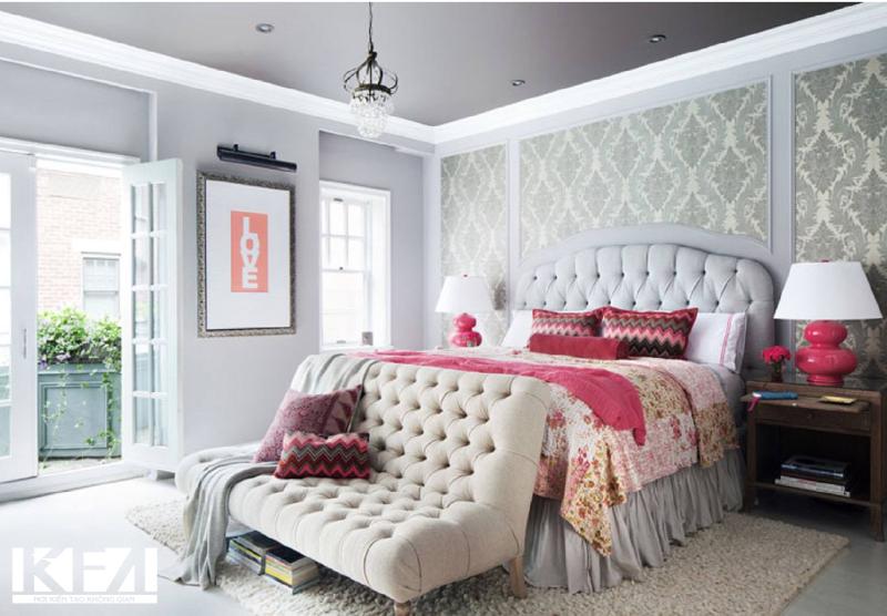 Phòng ngủ tân cổ điển mới mẻ, độc đáo