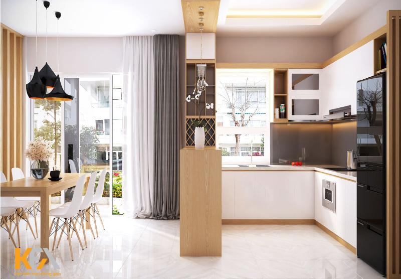 Ý tưởng không gian bếp đẹp thách thức mọi diện tích