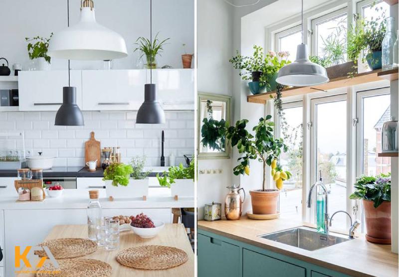 Không gian nhà bếp đẹp theo phong cách vintage