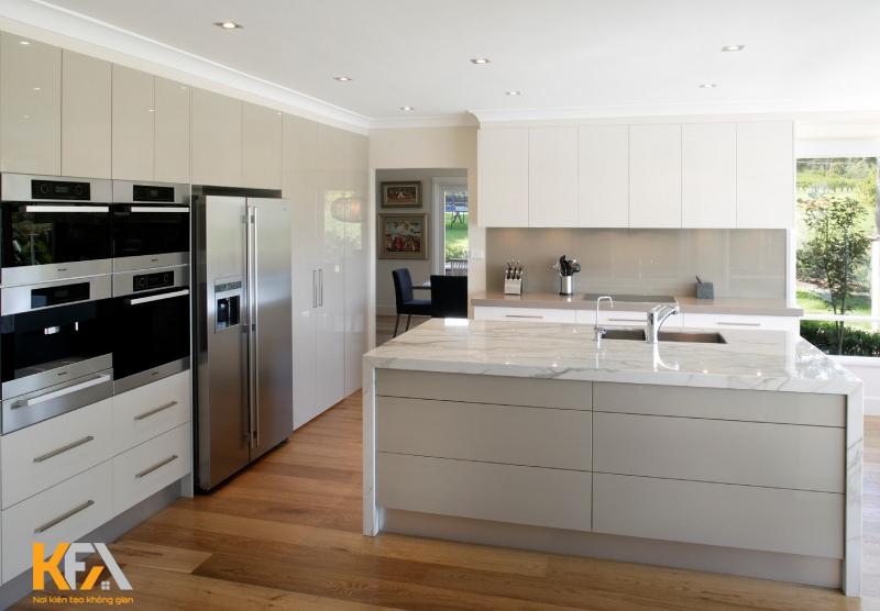 Thiết kế tiết kiệm diện tích lại có ưu điểm là dễ dàng lắp đặt trên tường và giải phóng thêm không gian