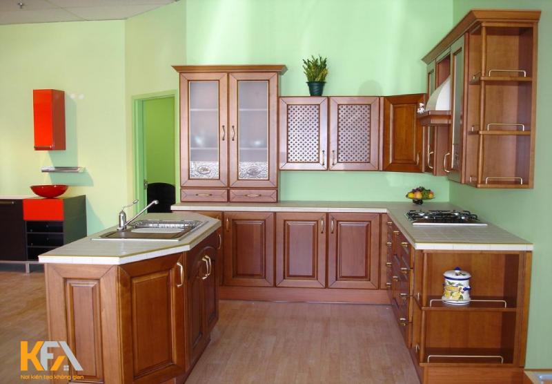 Tuy không lớn lắm nhưng lại rất thu hút những căn bếp hạn hẹp về diện tích