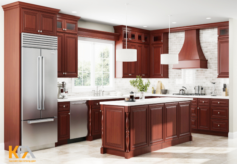 Bạn có thích màu gỗ gụ trầm ấm và tinh tế