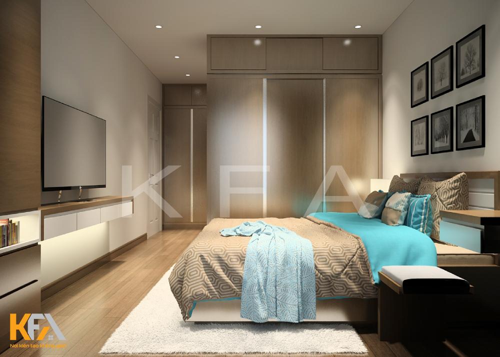 Thiết kế nội thất nhà anh Tiêm – chung cư 17 – 2 Sài Đồng