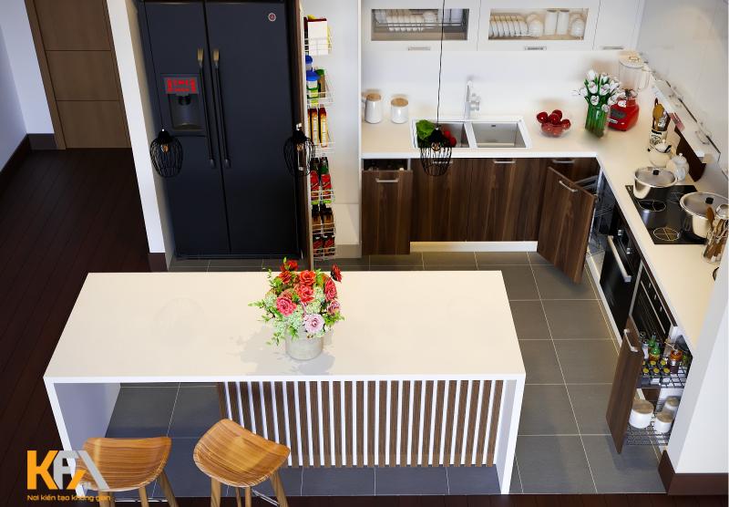 Xác định kích thước tiêu chuẩn sẽ tạo nên không gian bếp sang trọng, tiện nghi