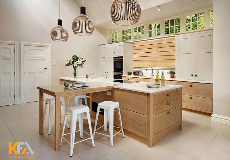 Không gian bếp nhỏ xinh, xanh mát cho chung cư có diện tích nhỏ
