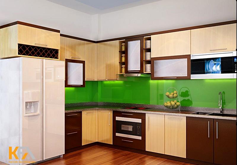 Tủ bếp thông minh giúp mở rộng diện tích căn phòng