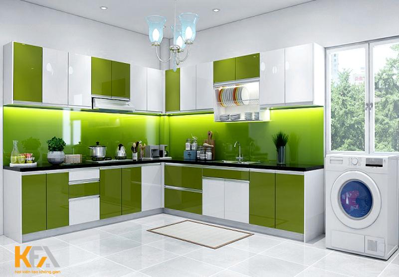 50+ mẫu tủ bếp hiện đại – Giải pháp tối ưu cho phòng bếp chung cư