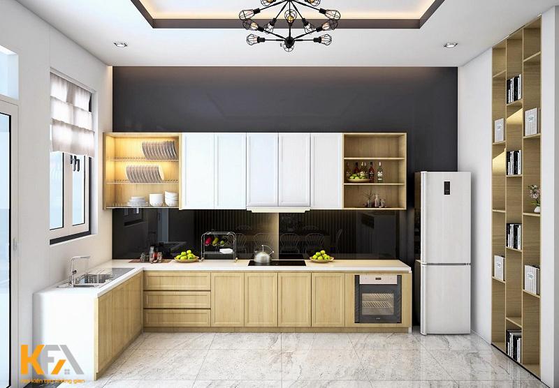 Nhà bếp đẹp, chức năng hiện đại và sắp xếp thông minh