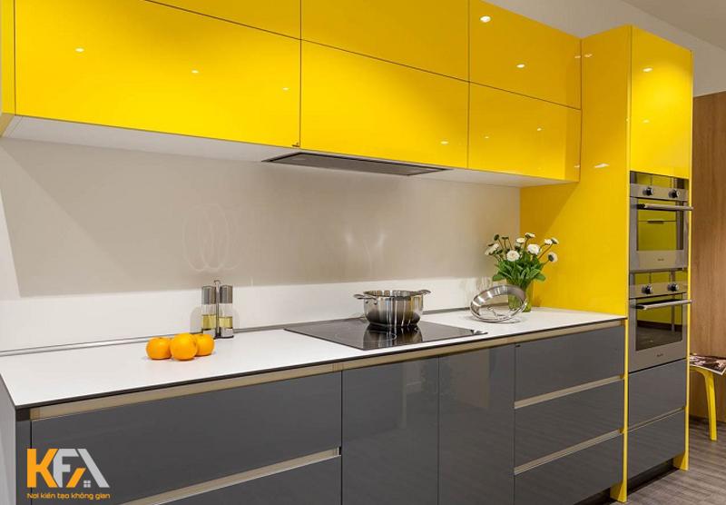 Bạn có thể lựa chọn những mẫu tủ bếp đẹp hình chữ I theo nhu cầu của mình