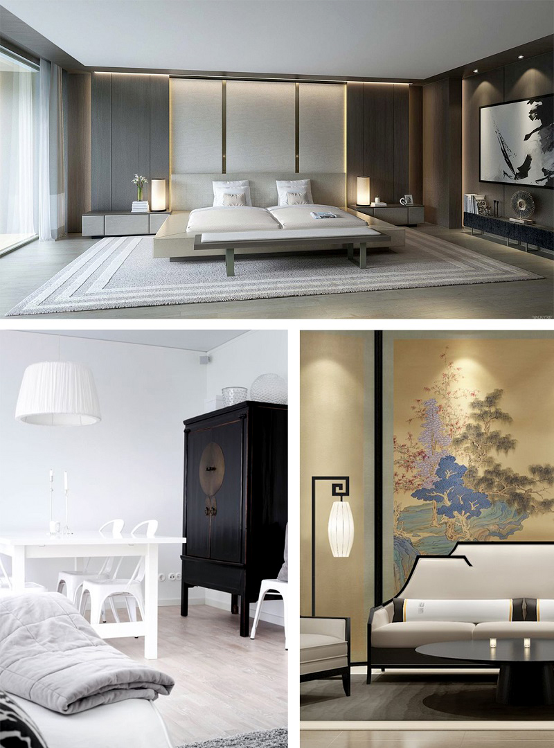 Cả hai phong cách thiết kế hiện đại và đương đại đều không thừa, mục tiêu là sử dụng những đường nét đơn giản thay vì những chi tiết trang trí rườm rà.
