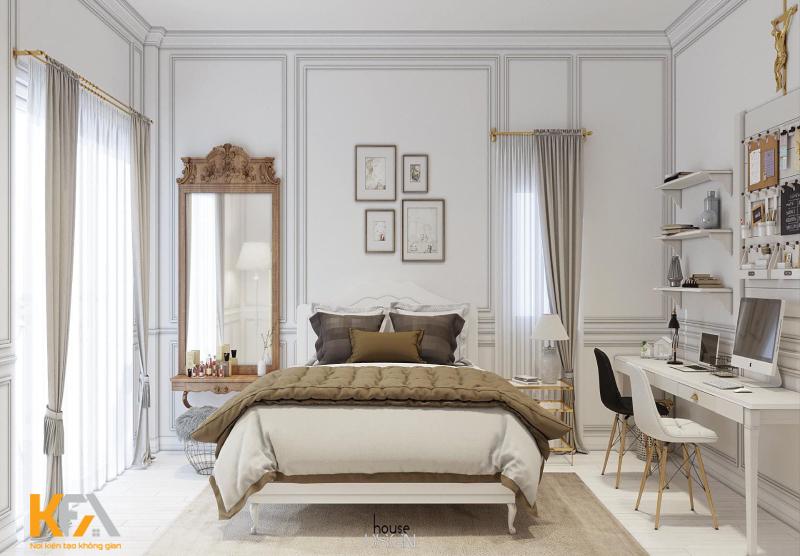 Căn hộ của bạn sẽ trở nên hoàn hảo hơn nếu được trang trí bằng rèm cửa nhẹ nhàng