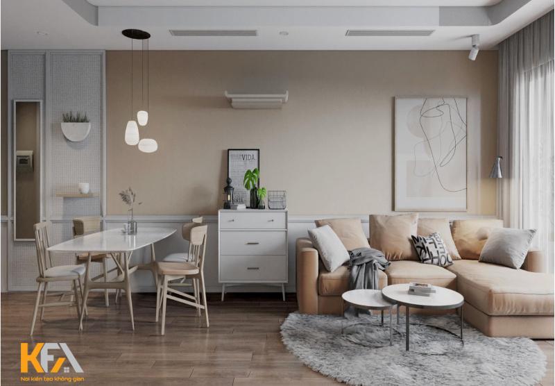 Đồ nội thất đơn giản nhưng không kém phần tinh tế và sang trọng