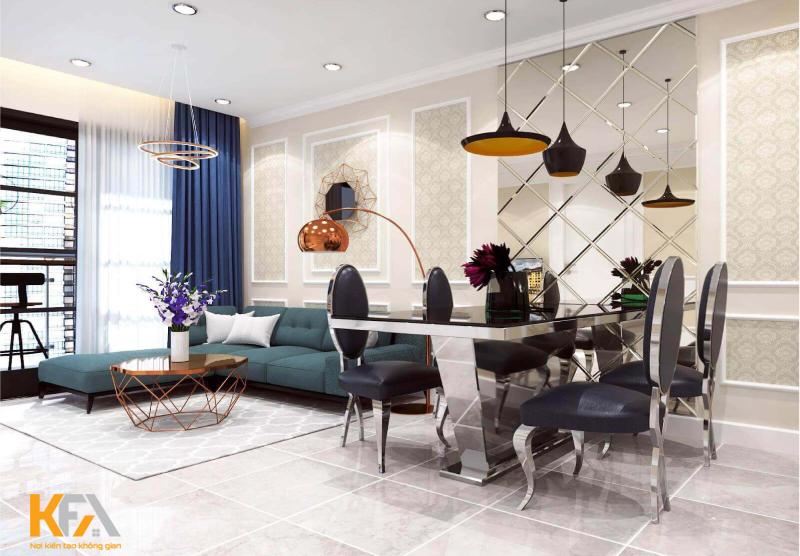 Phong cách Art Deco – Thiết kế nội thất sang trọng và hiện đại
