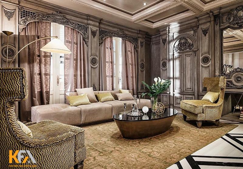 Thiết kế Baroque sang trọng và lộng lẫy