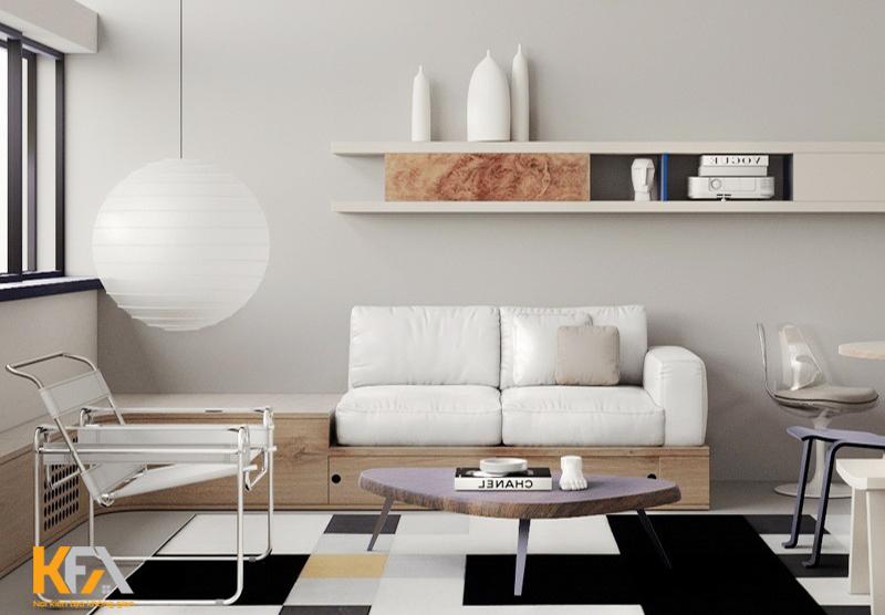 Thiết kế theo phong cách Bauhaus rất tinh tế trong từng chi tiết