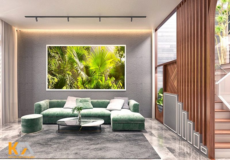 Phong cách này cũng sử dụng những hình khối đơn giản trong thiết kế để tạo cảm giác thoải mái cho mọi người khi bước vào phòng.