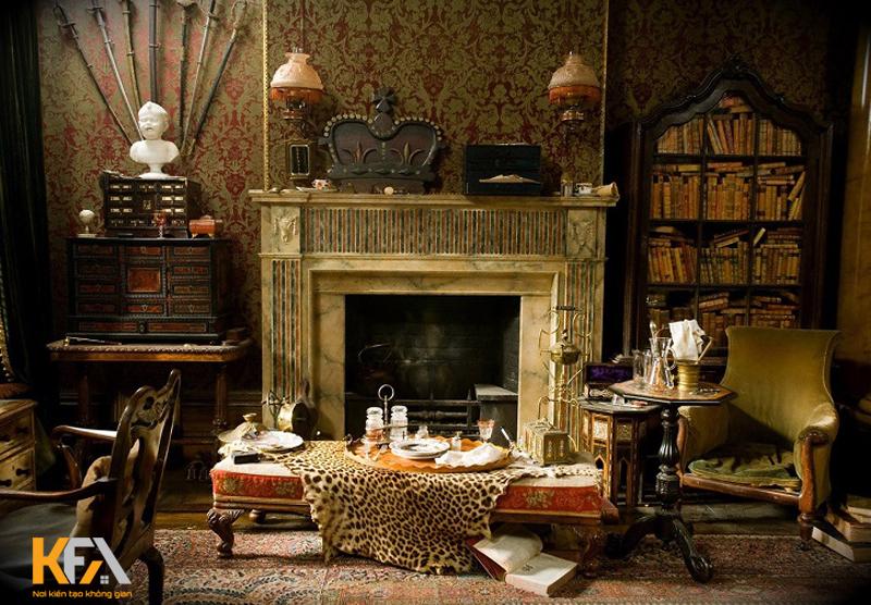 Phong cách nội thất Gothic – Đỉnh cao phong cách Pháp
