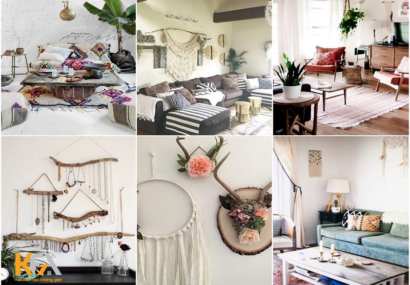 Tìm hiểu phong cách thiết kế nội thất Bohemian đầy cá tính