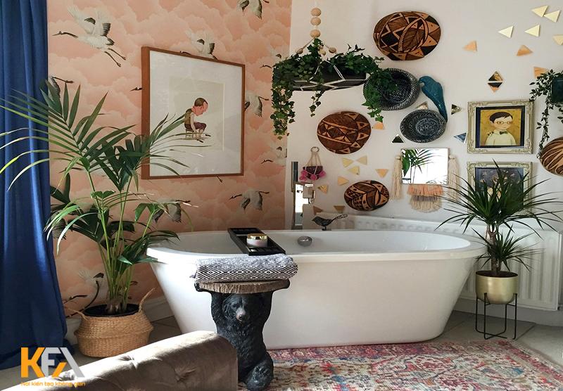 Phong cách bohemian trong trang trí nội thất