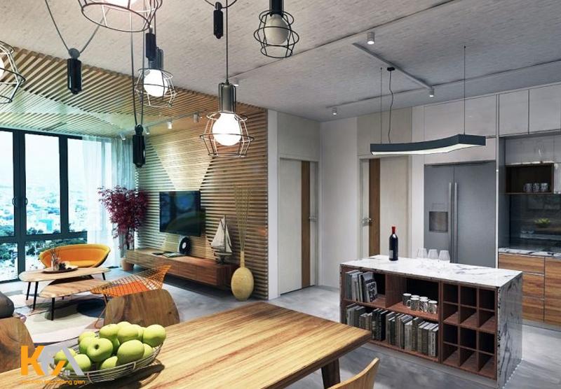 Phong cách Vintage trong thiết kế nội thất chung cư