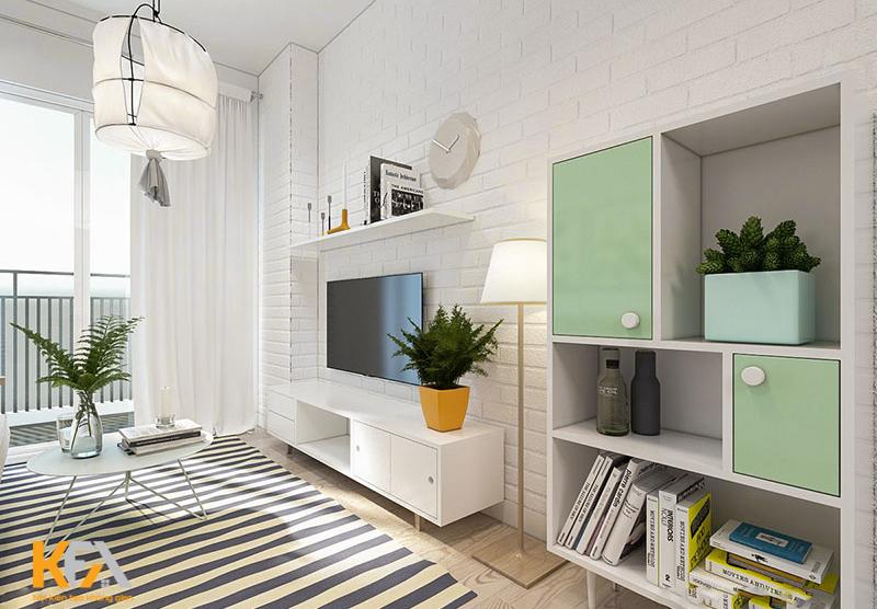 Các không gian nội thất Vintage thường sử dụng các vật liệu lát sàn như sàn gỗ và thảm