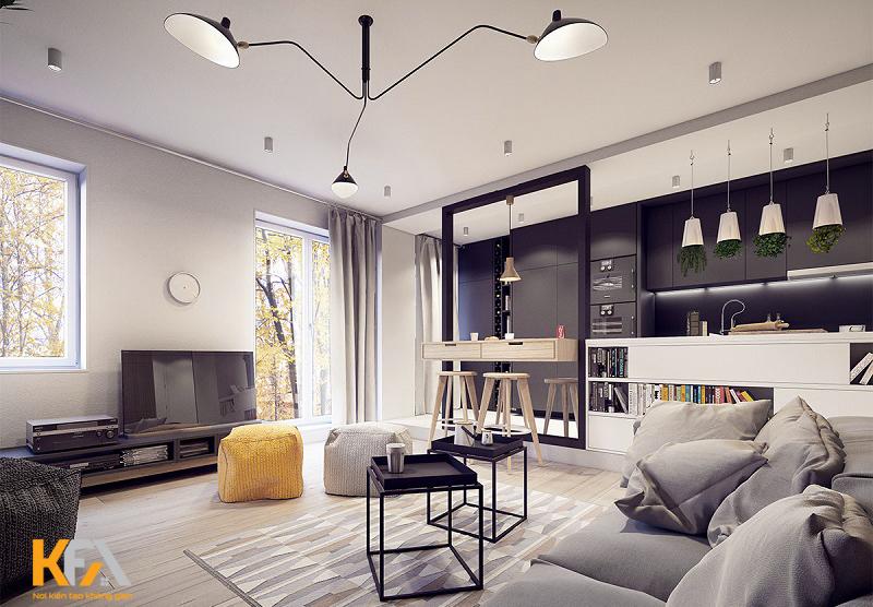 Phong cách Vintage làn gió mới cho thiết kế nội thất chung cư