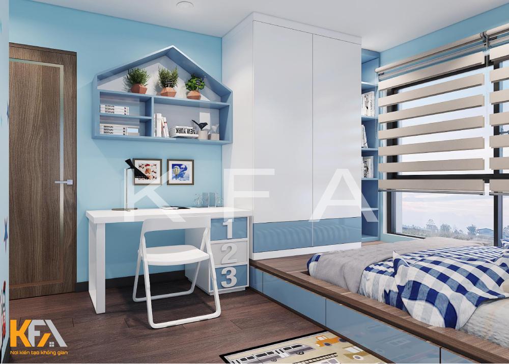 Thiết kế nội thất chung cư Trung Hòa- anh Hùng