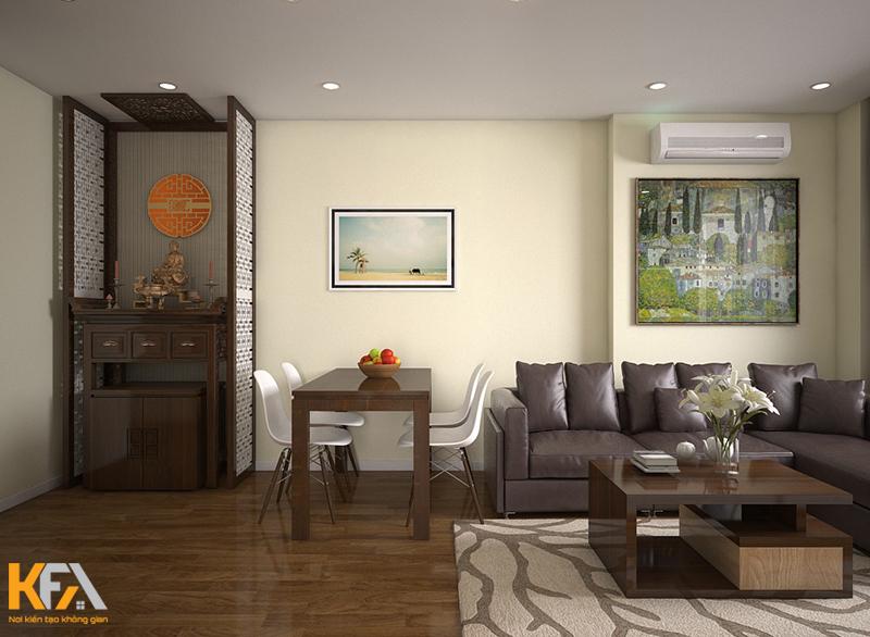 Thiết kế nội thất nhà chị Huyền HH2 Dương Nội