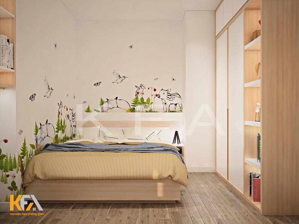Thiết kế nội thất nhà chị Ngọc 1106C Westbay – Ecopark